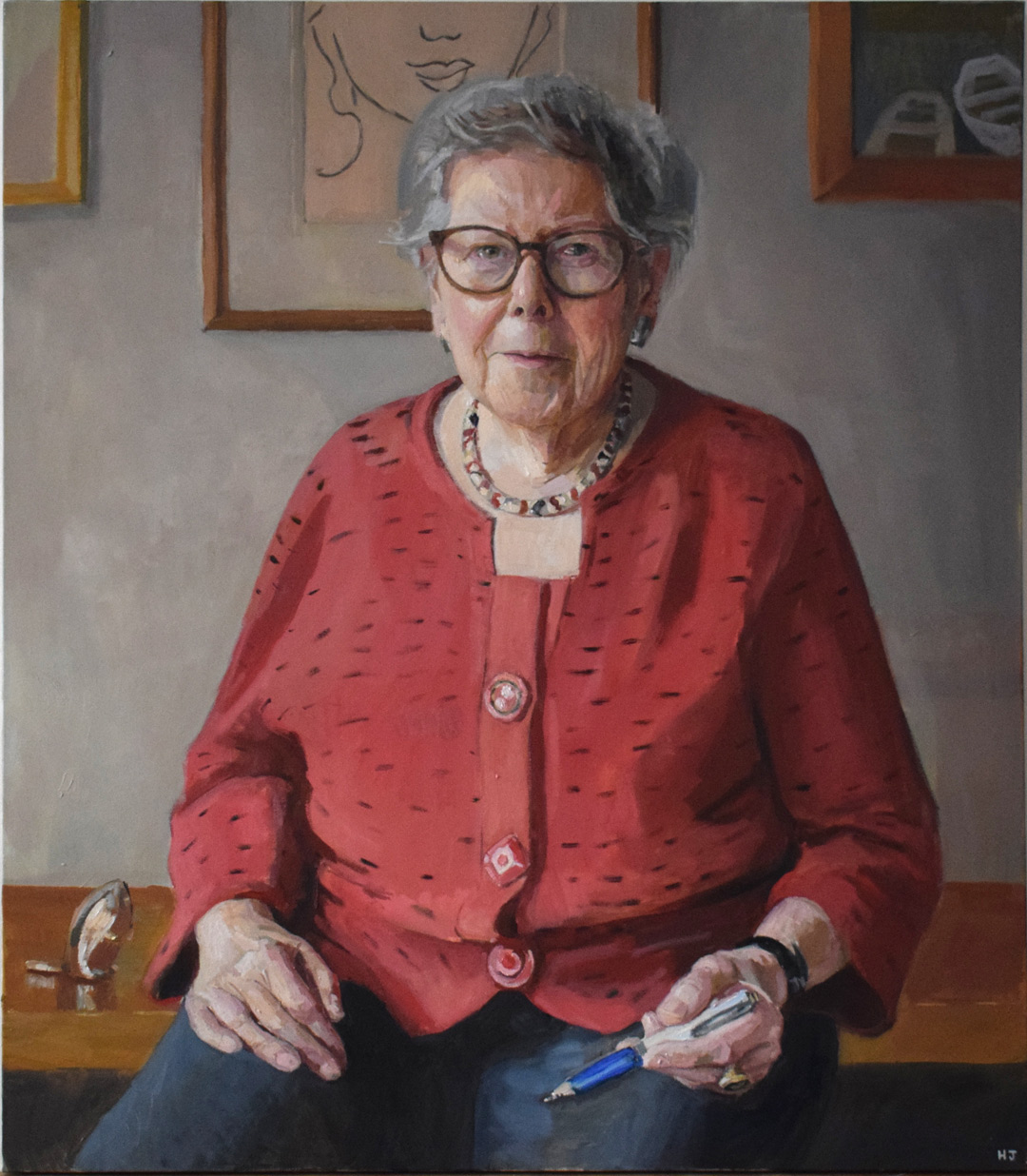 Hero Johnson, Barbara Hosking CBE, 2016