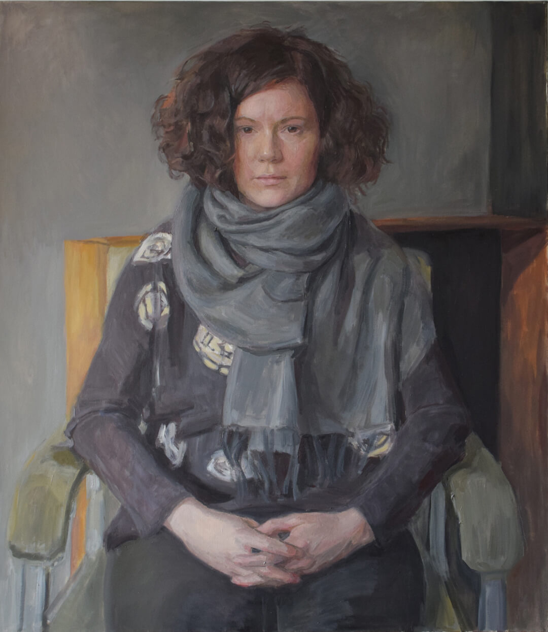 Hero Johnson, portrait of Paulina. Royal Society of Portrait Painters 2015.