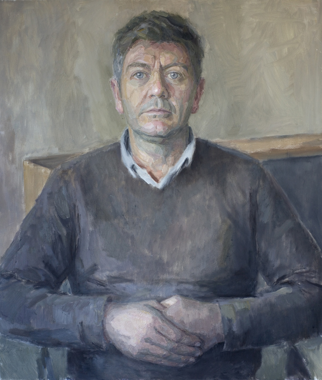 Hero Johnson. Royal Society of Portrait Painters 2014.