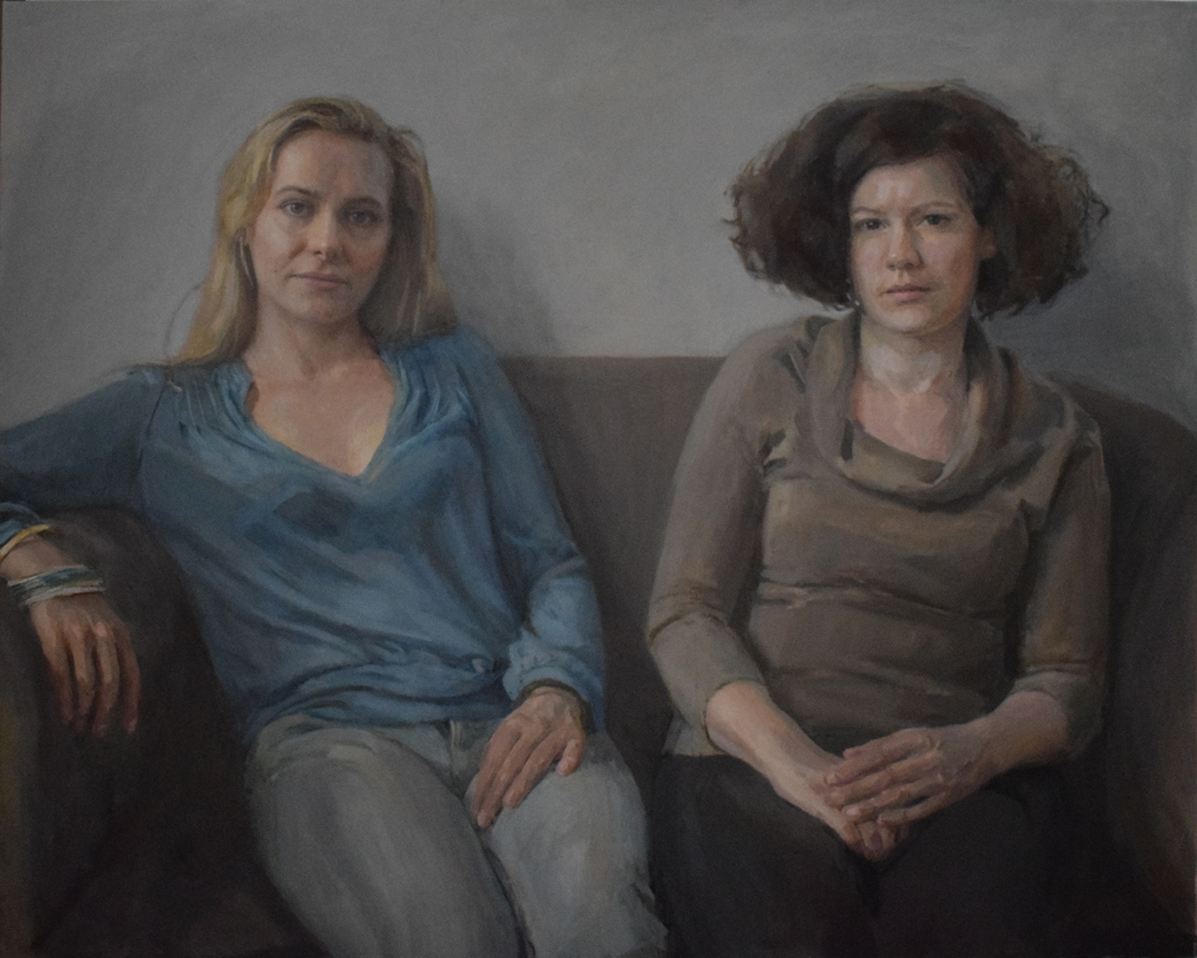 Hero Johnson. Royal Society of Portrait Painters 2016.