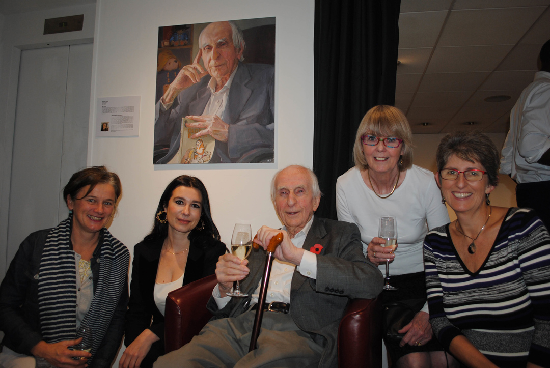 Hilary Delamere, Hero Johnson, Michael Bond, Sue Bond and Karen Jankel