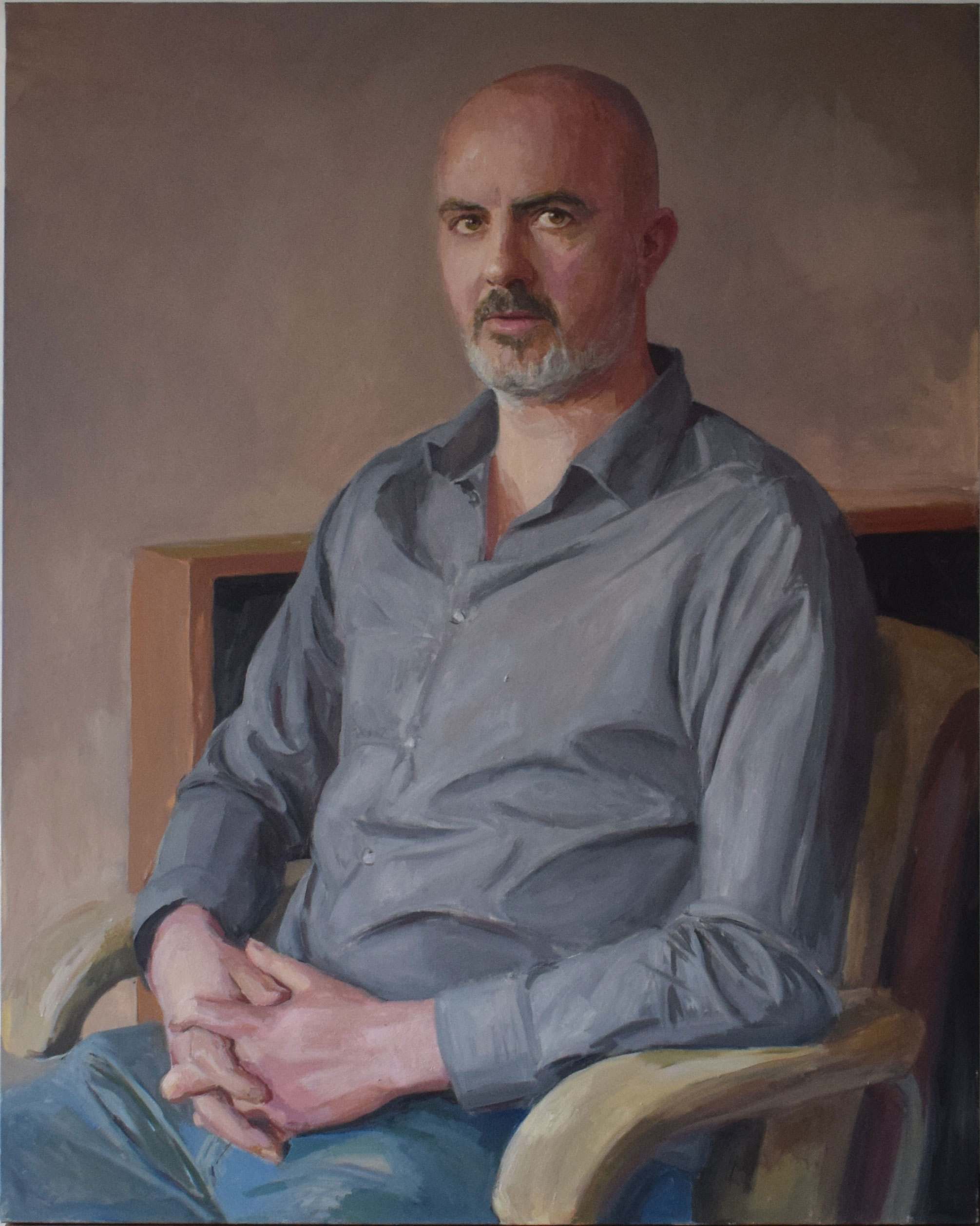 Hero Johnson, portrait of the artist Carl Randall
