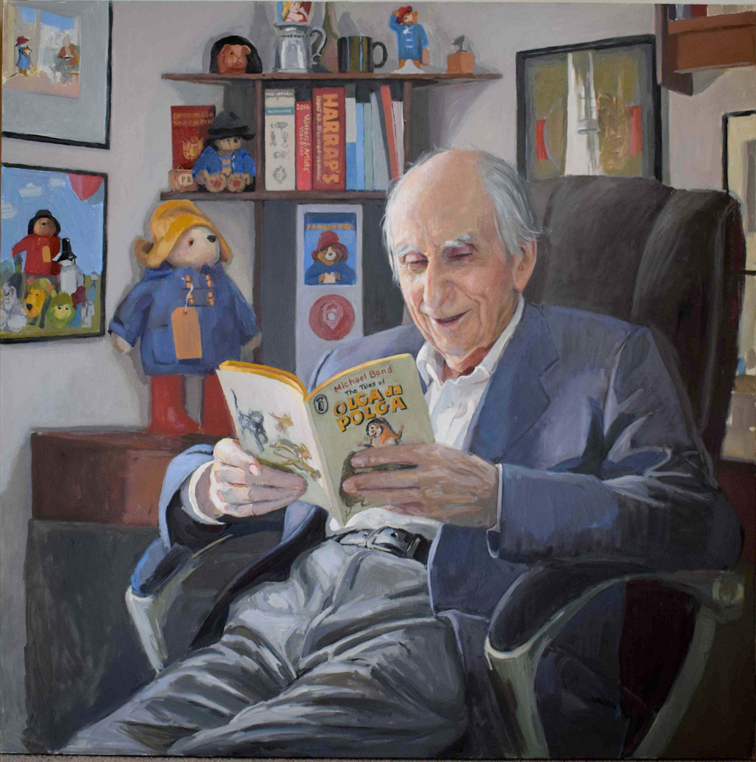 Hero Johnson, portrait of Michael Bond CBE