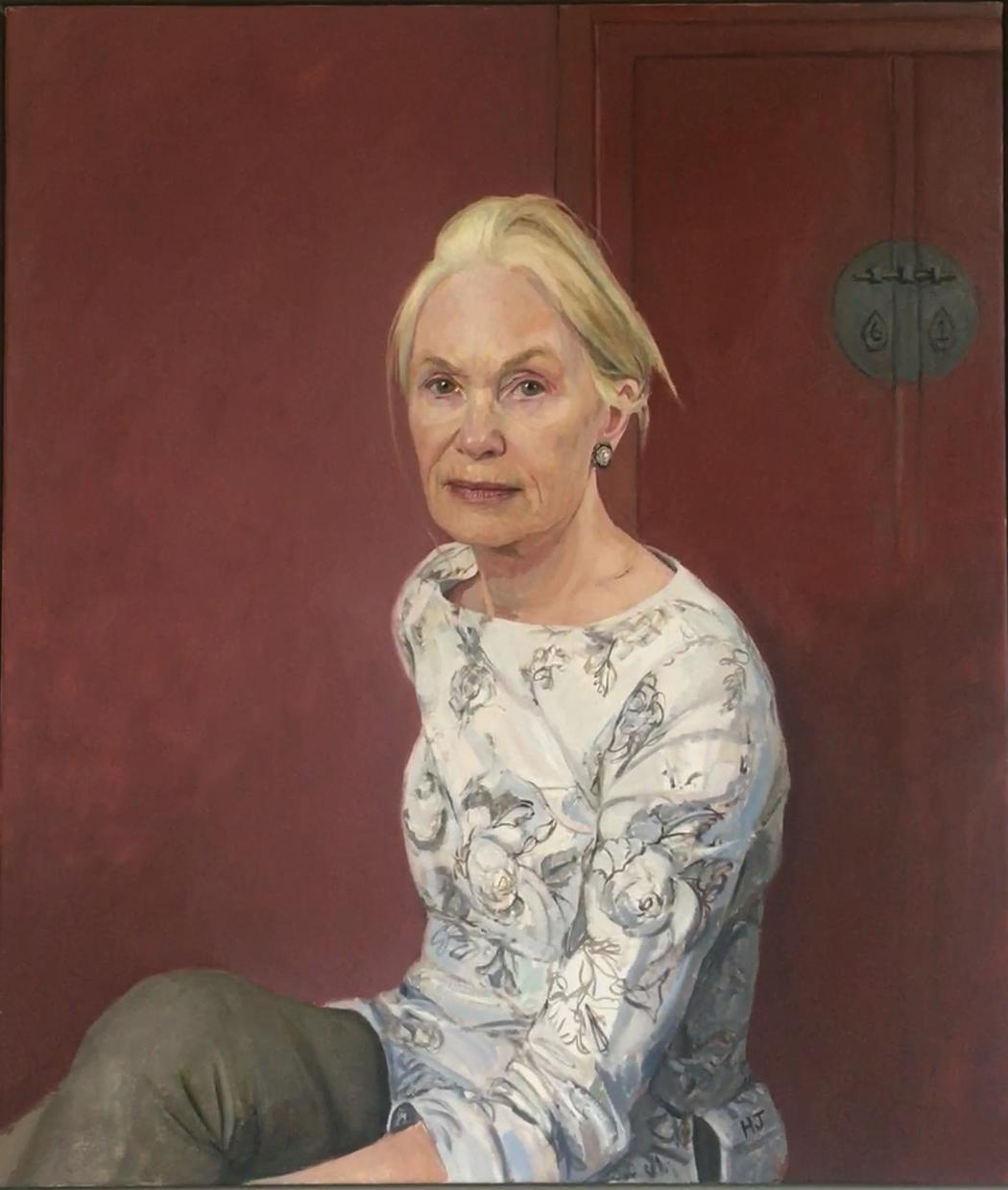 Portrait of Patsy Puttnam by Hero Johnson